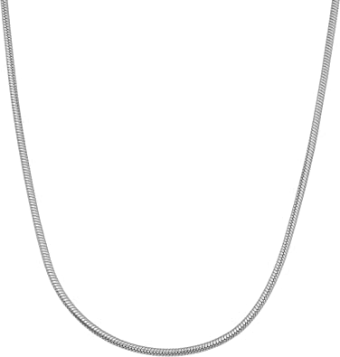 High Polished Sterling Silver Classic Box 015 Chain 0.9mm
