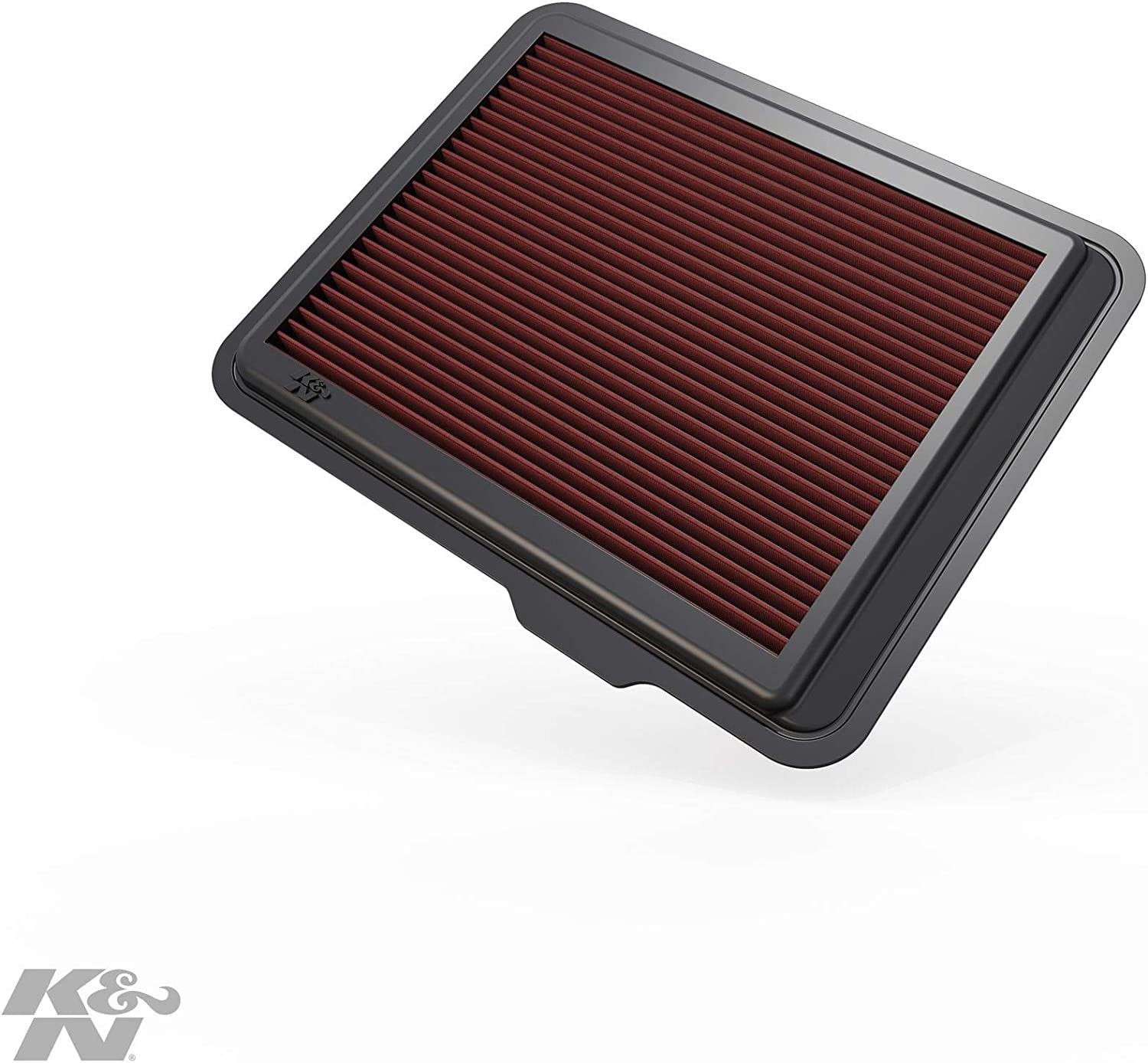 K&N Engine Air Filter: High Performance, Premium, Washable, Replacement Filter: 2008-2012 Chevy/GMC/Hummer Truck and SUV (Colorado, Canyon, H3, H3T), 33-2408