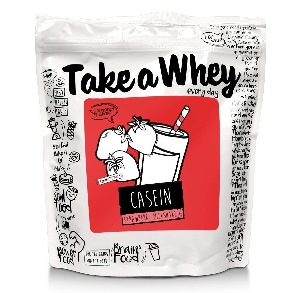 Take-A-Whey Batido de Proteína de Caseína Micelar Todos los ...