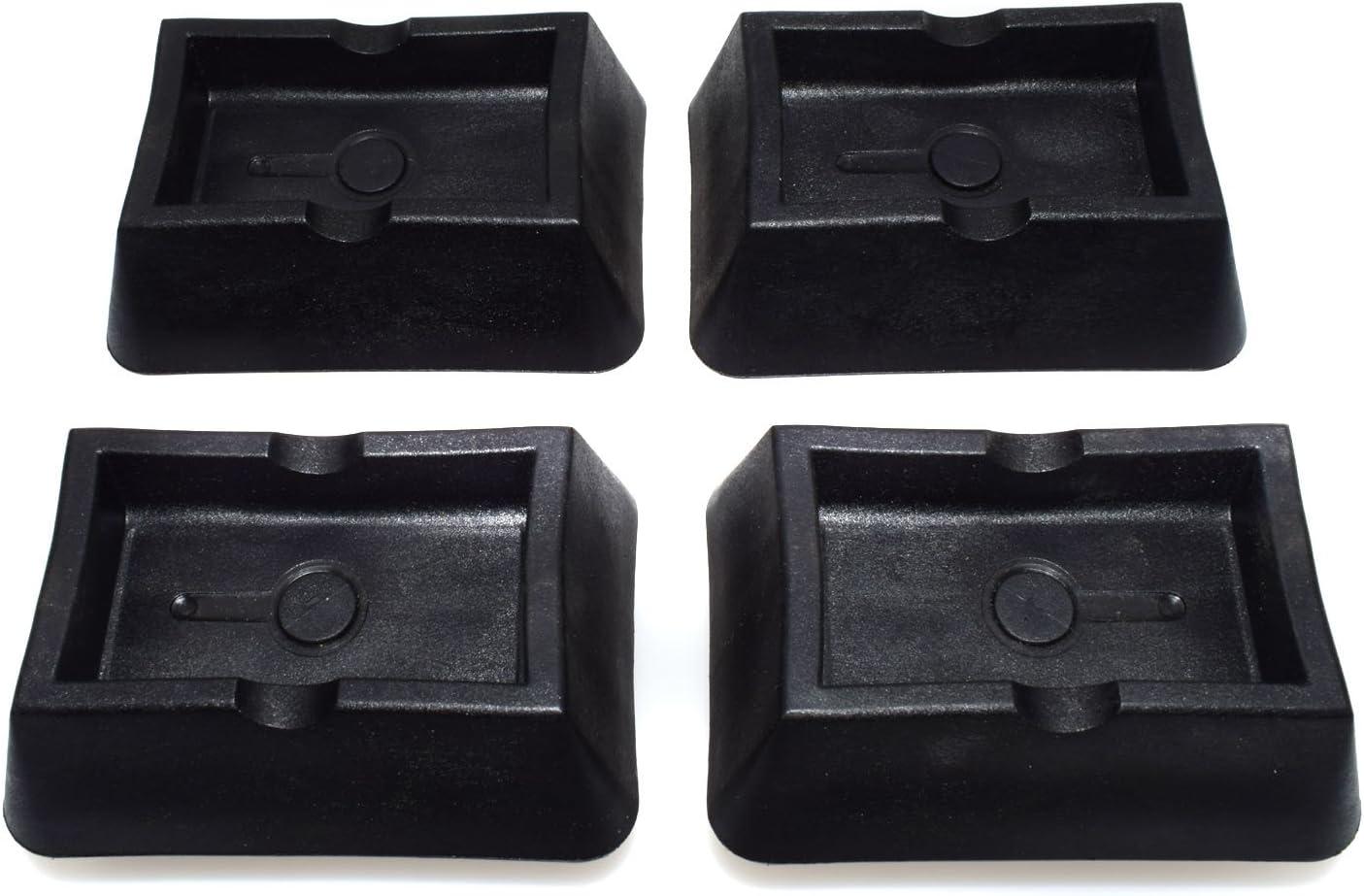 4Pcs Jack Pad Lift Point Support Platform Mount Surface For BMW X3 M6 325i 330Ci