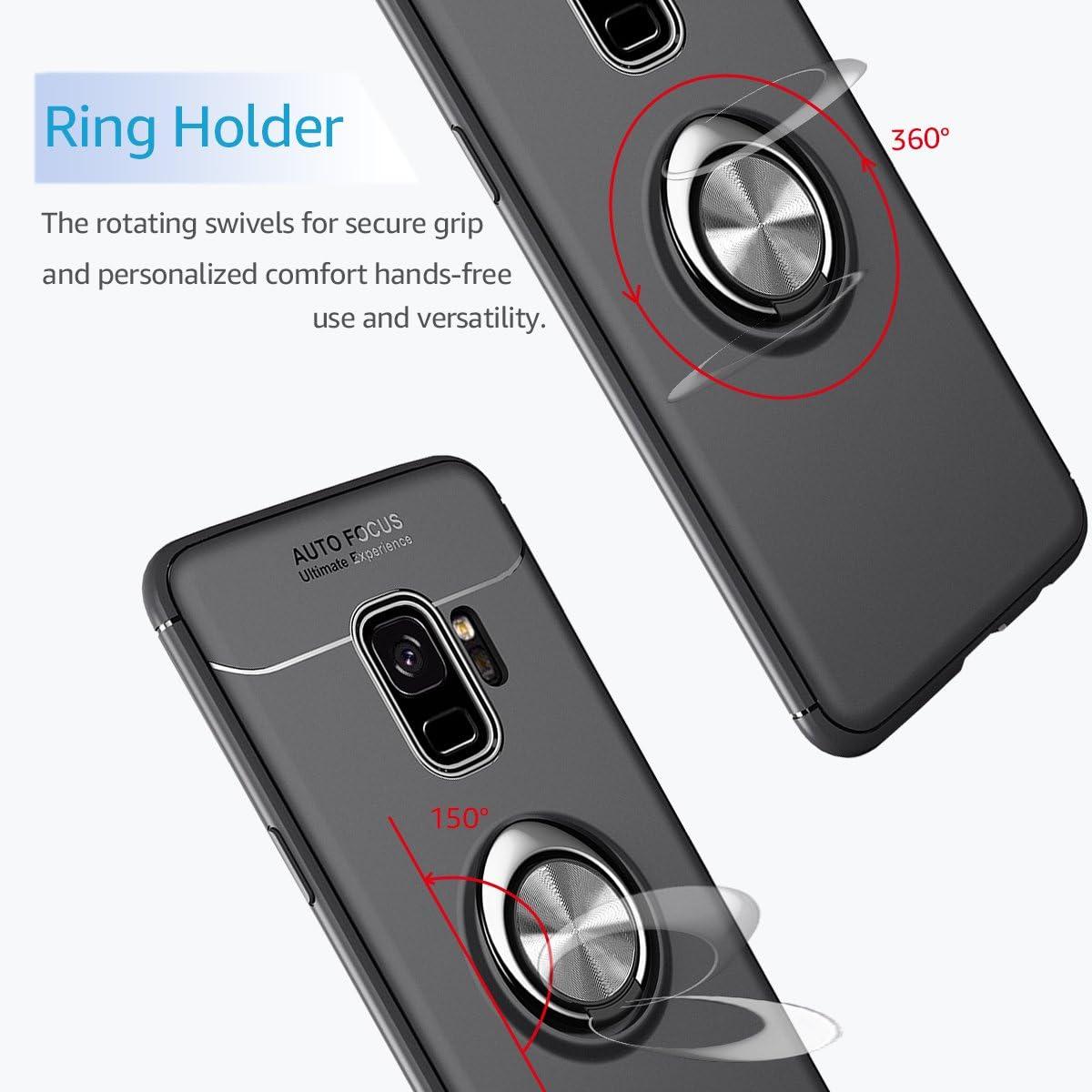 Watache Galaxy S9 Plus Hülle Metall Ring Grip Halter Elektronik