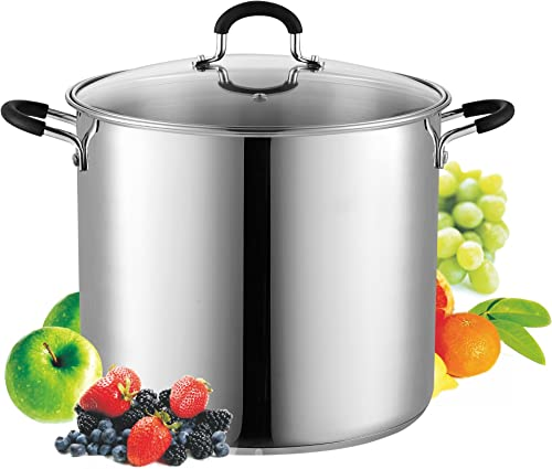 Cook N Home 12 Stainless Steel Saucepot