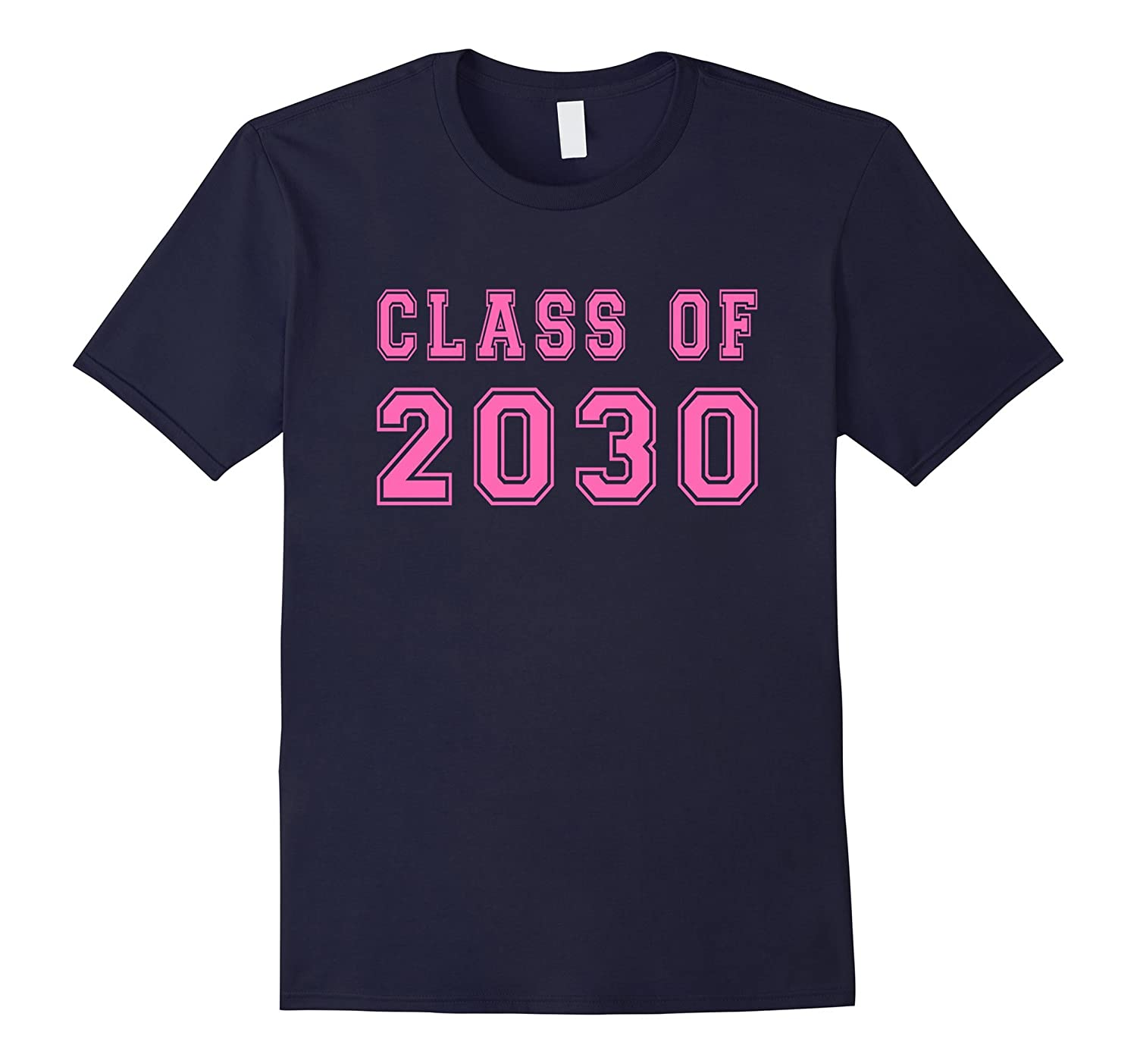 Class Of 2030 High School Graduation Date Kindergarten Tee-Vaci