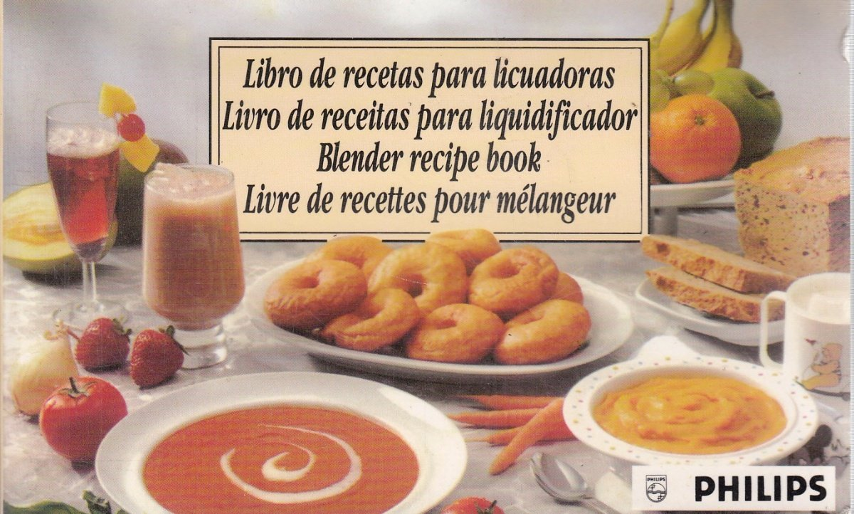 Libro de Recetas Para Licuadoras - Blender Recipe Book - Livro de ...