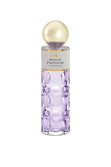 Saphir Black Femme Eau de Parfum para Mujer (1x200 ml)