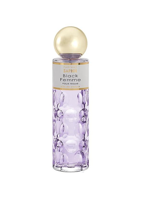 Saphir Black Femme Eau de Parfum para Mujer (1x200 ml) : Amazon.es: Belleza