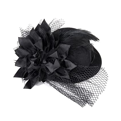 Fever Mini Top Hat on Headband Burlesque Party Women/'s Fancy Dres Costume
