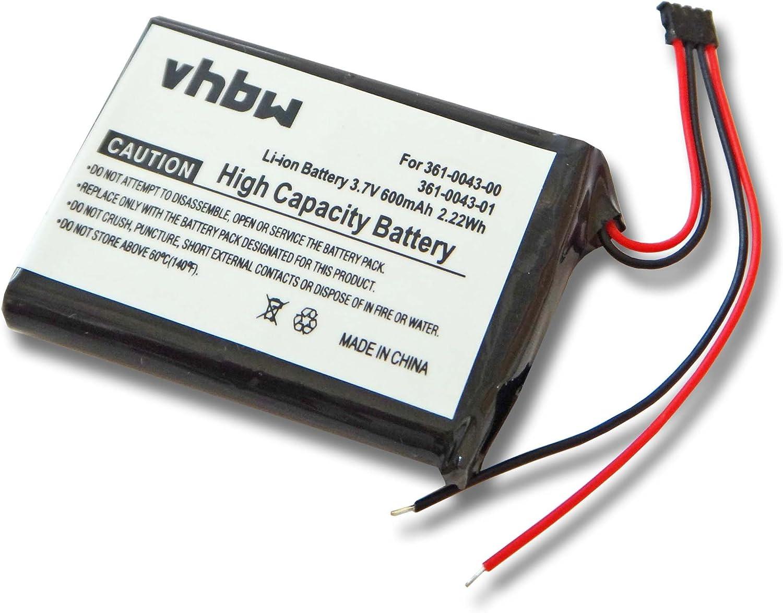 vhbw batería Compatible con Garmin Edge 010-01626-02, 200, 205, 500, 520, Explore 820 (600mAh, 3,7V, Li-Ion): Amazon.es: Electrónica