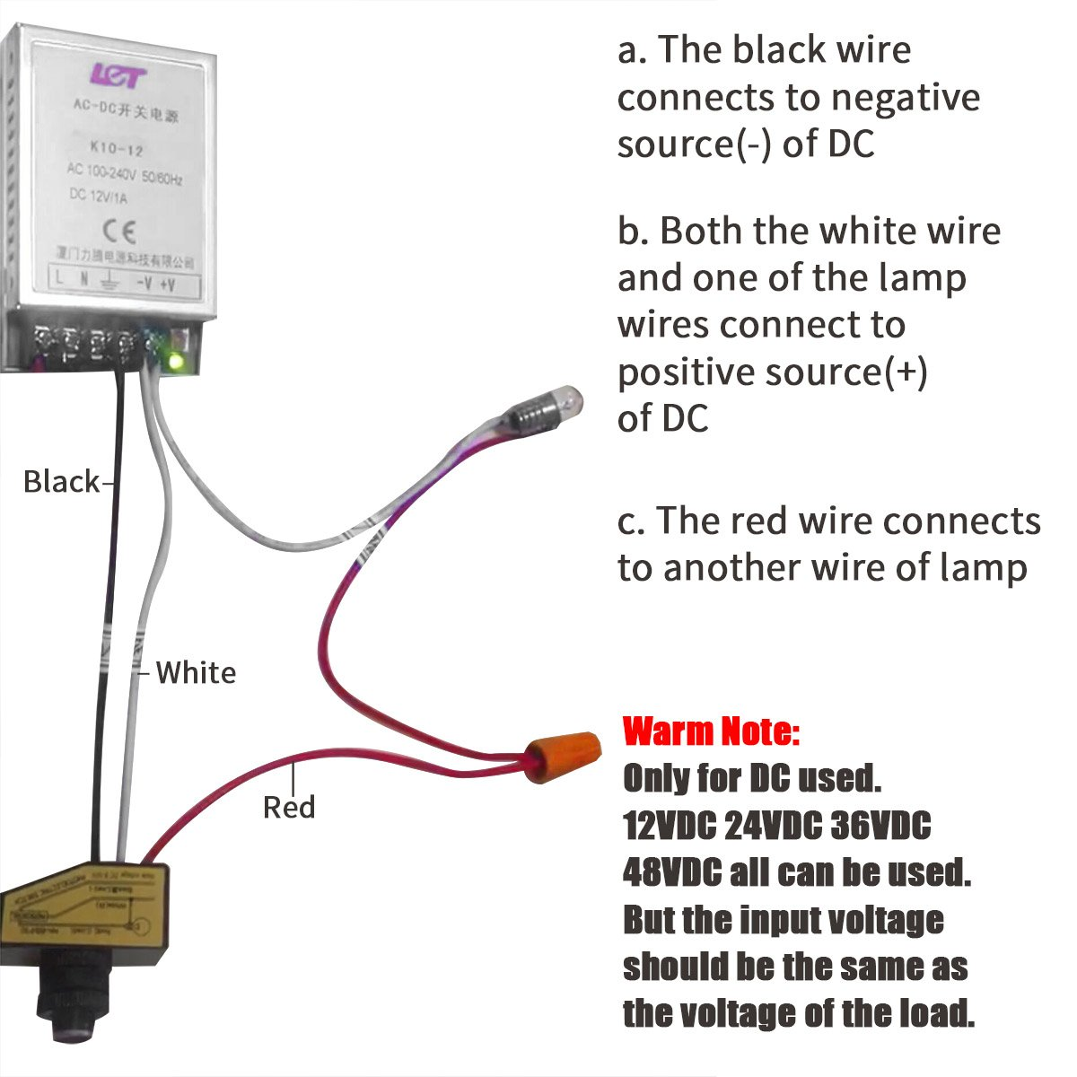 Dc Photocell Wiring Schematic - Wiring Diagram & Cable ... on
