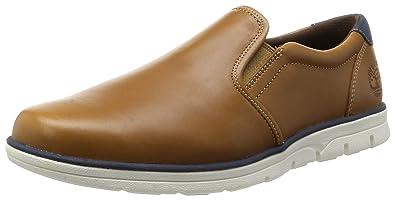 Timberland - Mocasines de Piel Lisa para hombre marrón marrón: Amazon.es: Zapatos y complementos