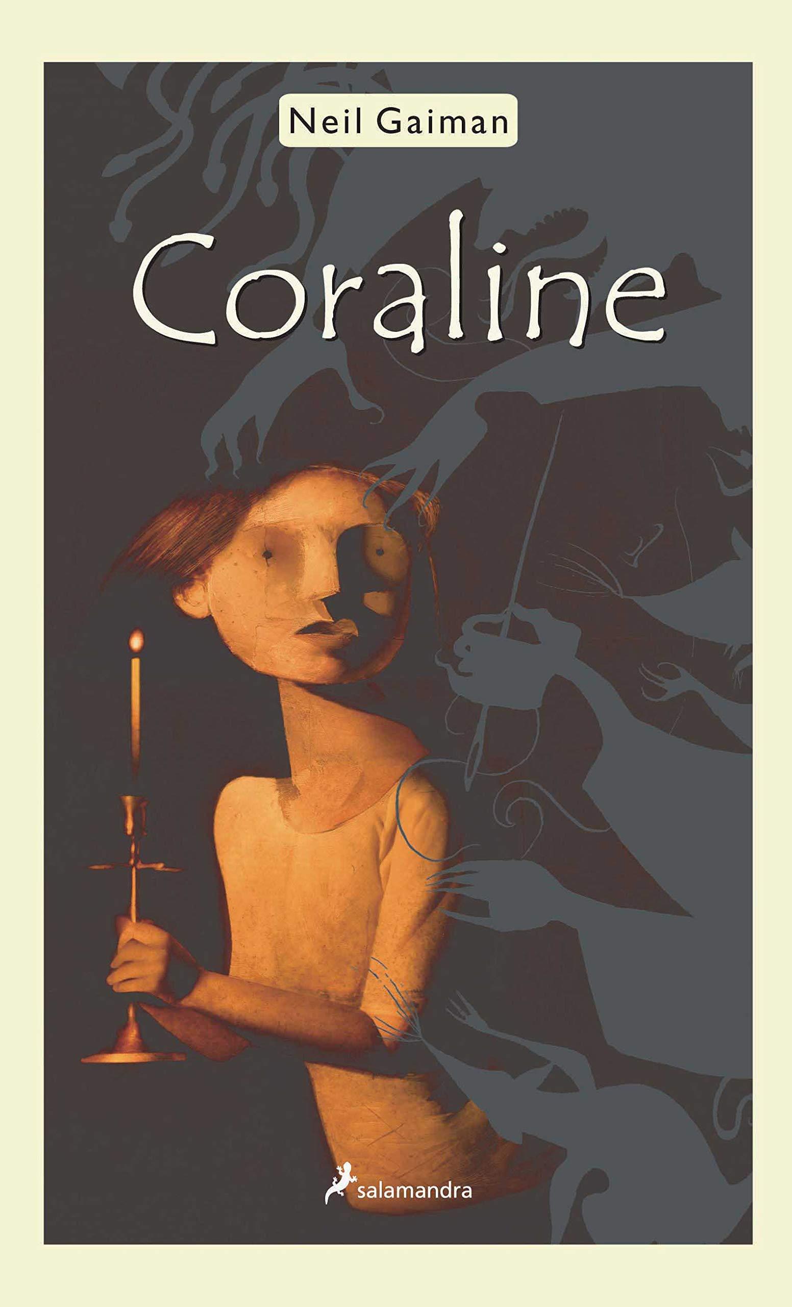Coraline Salamandra Middle Grade Spanish Edition Gaiman Neil 9788478885794 Amazon Com Books