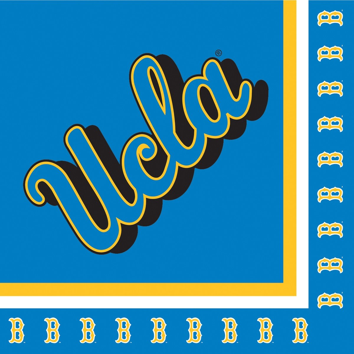 Creative Converting UCLA Bruins Luncheon Napkins (20 Count)