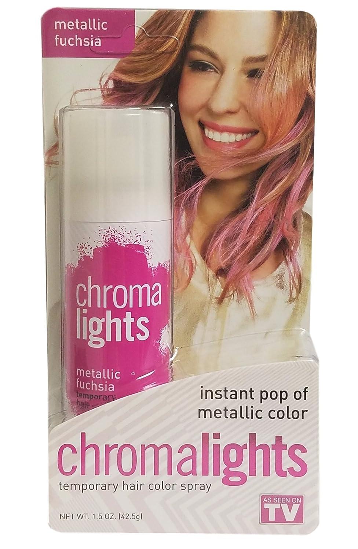 Chromalights Temporary Hair Color Spray Metallic Fuchsia Good
