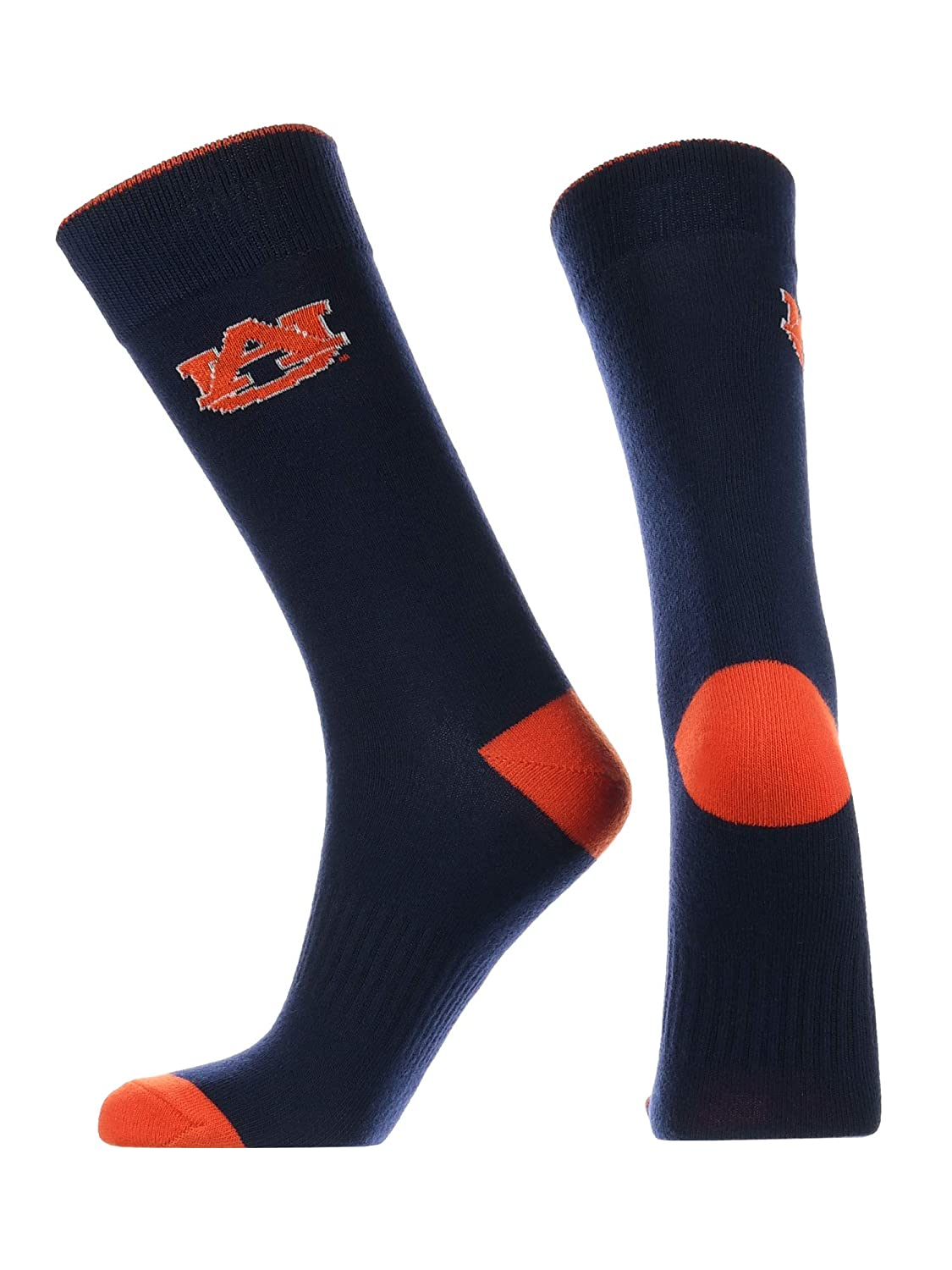 Auburn Tigers Dress Socks Deans List Crew Length Socks
