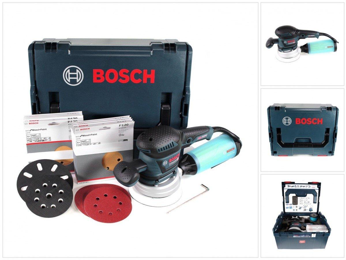 Bosch Professional 060137B103 Ponceuse excentrique GEX 125-150 AVE avec Coffret L-BOXX + 50 Abrasifs product image