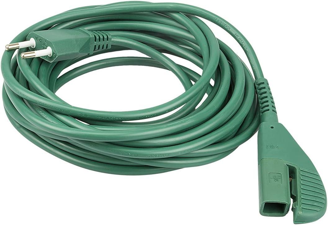 Cable de alimentaci/ón 7/m Folletto Kobold VK135/y VK136/Interfilter ricambia Marca imq Conectores FPC de Candy Hoover