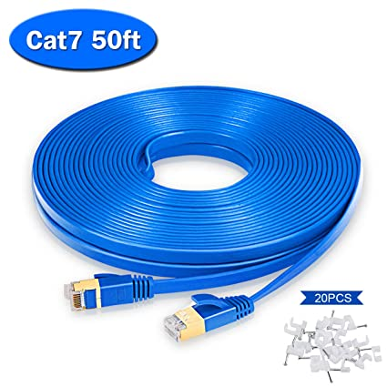 3 x 50 FT feet RJ45 CAT5 CAT5E Ethernet LAN Network Cable Networking Patch Cords
