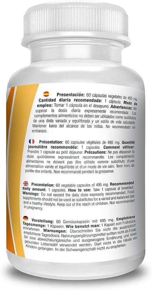 Vitamina D 3 y K2, 60 cápsulas multivitaminicas enriquecidas con extracto de bambú, concentración de 4.000 ui en una sola cápsula. Favorece el ...