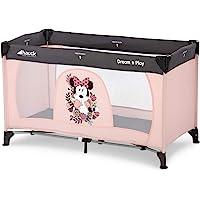 Hauck Cuna de Viaje Dream N Play, para Bebes y Niños de Nacimiento hasta 15 kg, 120 x 60 cm, Plegable, Compacta, Ligera…