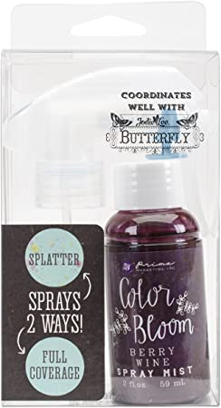 Prima Marketing Peinture Couleur Bloom Spray 2 Once Bottle Berry Vin Amazon Fr Cuisine Maison
