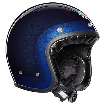 AGV X70 Trofeo Azul Motocicleta Casco Tamano 58cm
