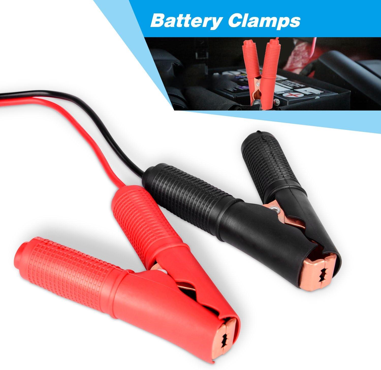 20x 30A Auto Batterie Clip Kabel Alligator Clips Ladegerät Klemme Reparatur Kit