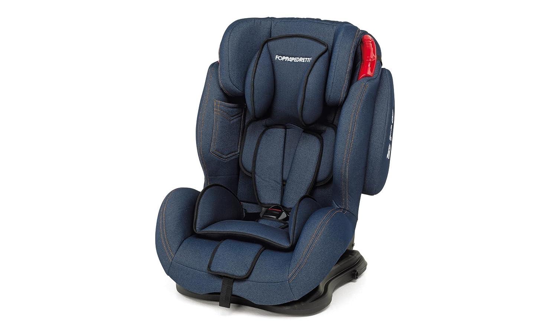 Foppapedretti Dinamyk, Silla de coche grupo 1/2/3, azul (Jeans) 9700384200