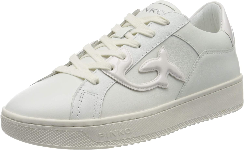 Pinko Women's Slip On Trainers White Bianco Brillante 70% OFF Popular Outlet Z04