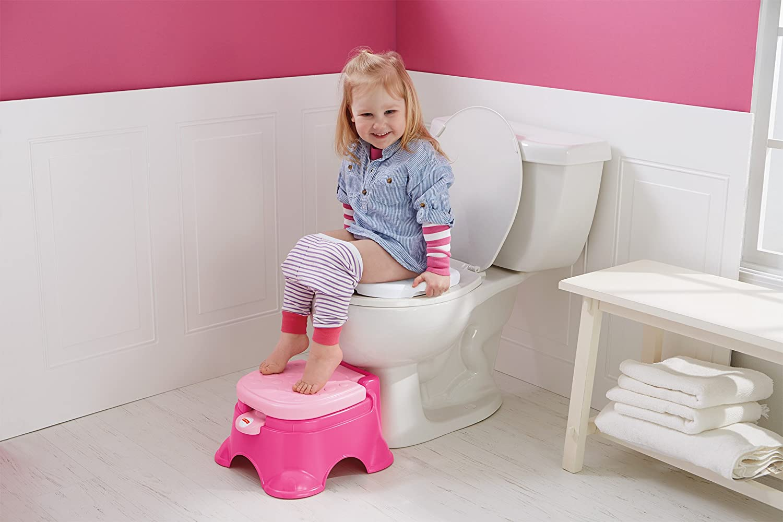 Amazon.com  Fisher-Price Stepstool Potty Pink Princess Pink/White  Baby  sc 1 st  Amazon.com & Amazon.com : Fisher-Price Stepstool Potty Pink Princess Pink ... islam-shia.org
