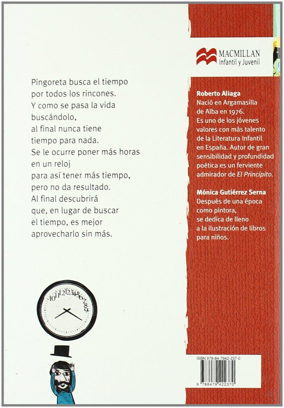 Amazon.com: Pingoreta y el tiempo (Librosaurio) (Spanish Edition) (9788479422370): Roberto Aliaga, Mónica Gutiérrez Serna: Books