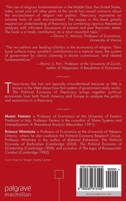 The Political Economy of Theocracy
