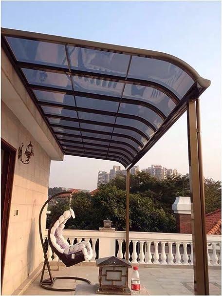 ClearYup 10 x 18 Panel de Patio Manual Parasol Refugio ...