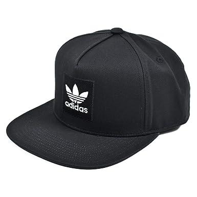 online retailer cf9f2 43826 adidas Women s 2 Tone Snapback Hat, Black, One Size  Amazon.co.uk  Clothing