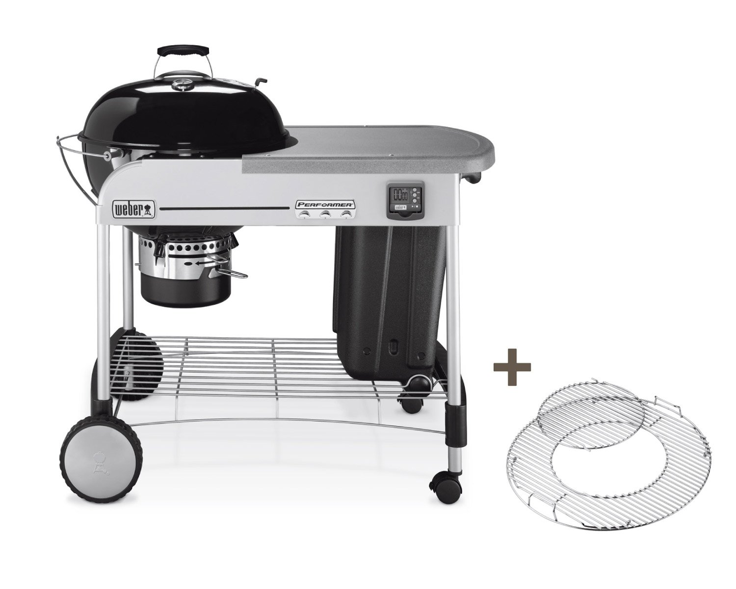 Weber Holzkohlegrill Grill Anleitung : Performer¸ premium gbs grill amazon garten