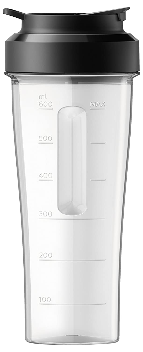 Philips Avance Collection HR3660/55 accesorio de licuadora - Accesorios de licuadora (Negro, Transparente, 0,6 L): Amazon.es: Hogar