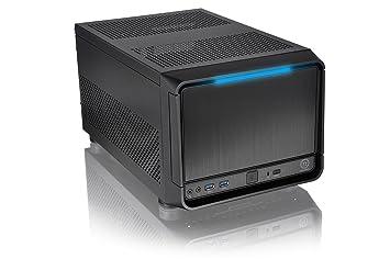 Thermaltake Urban SD1 Escritorio Negro carcasa de ordenador - Caja de ordenador (Escritorio, PC, Aluminio, SECC, Micro-ATX,Mini-ITX, Negro, ...