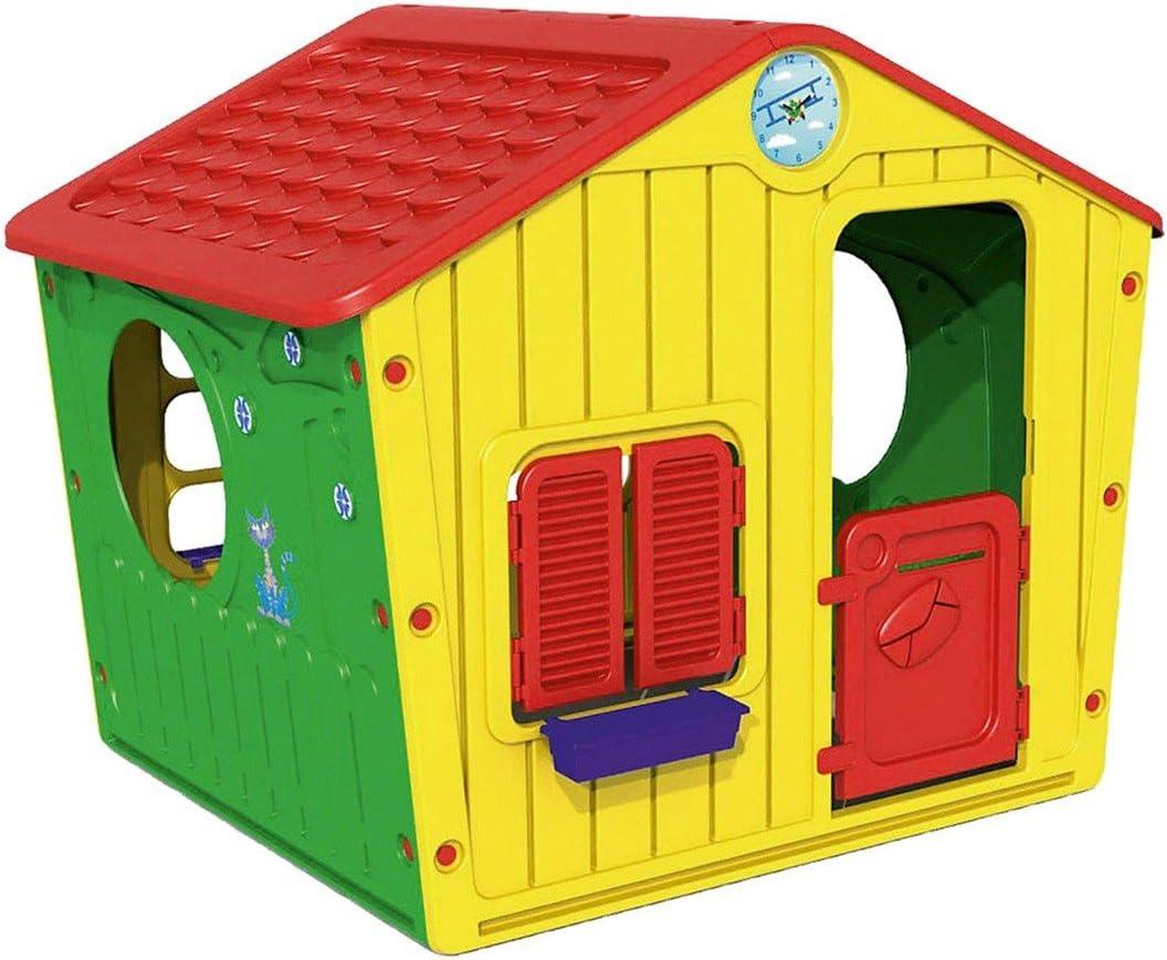 219584 Caseta de plástico para niños Galilee Village de jardín 140x108x115 cm: Amazon.es: Juguetes y juegos