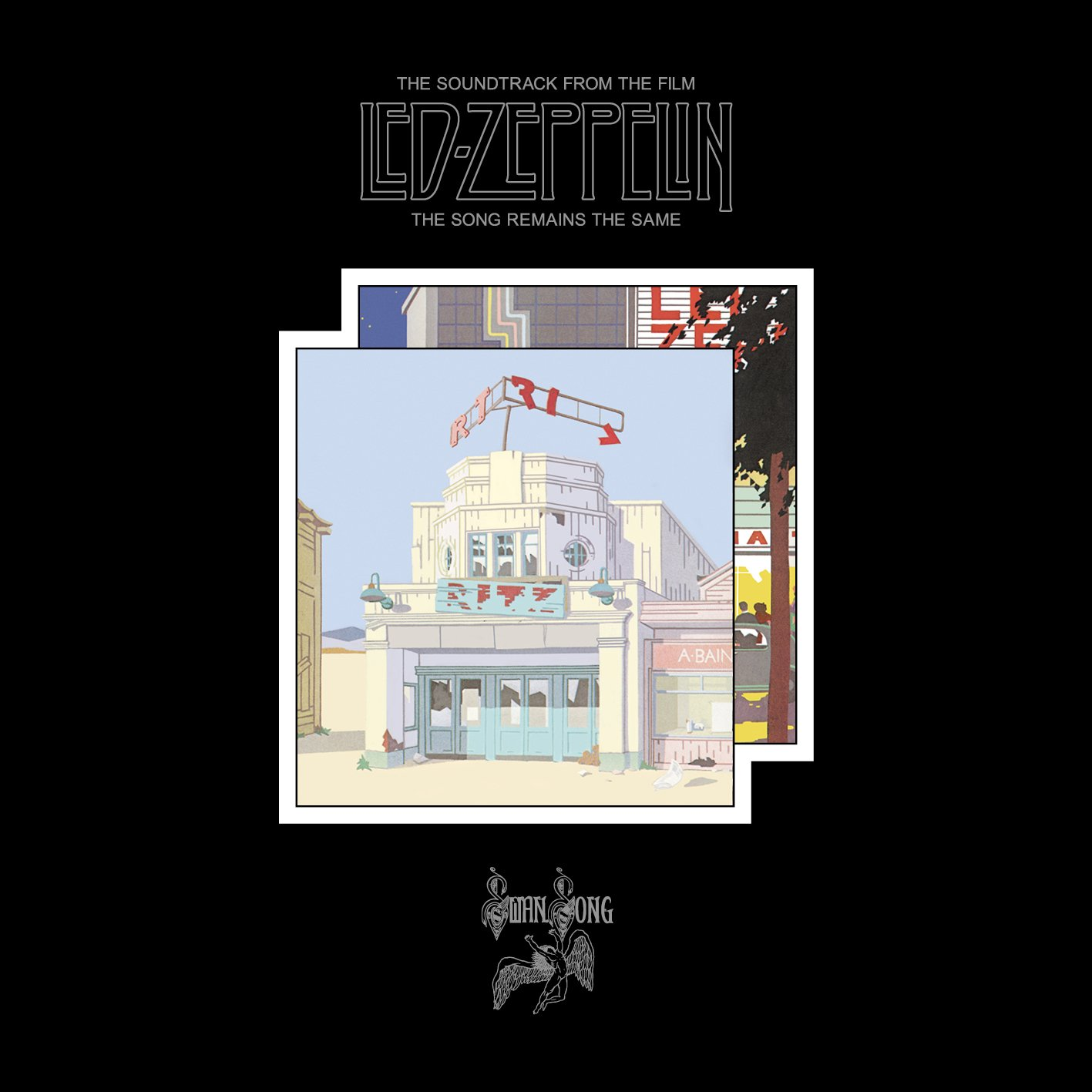 CD : Led Zeppelin - Song Remains The Same (2PC)