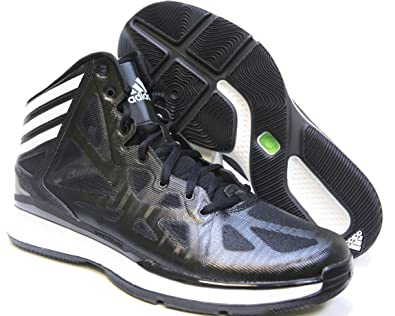 b5fc05bcdff4d adidas Crazy Shadow 2 Black/White Mens Basketball Shoes