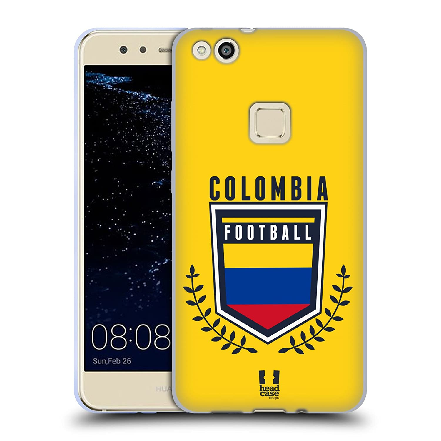 Head Case Designs Colombia Football Crest Soft Gel Case for Huawei P10 Lite HTPCR-P10LITE-FCRE-COL