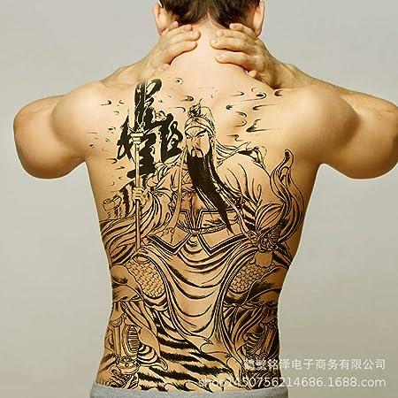 Modeganqing 2 Piezas Nuevas Pegatinas de Tatuaje de Espalda ...