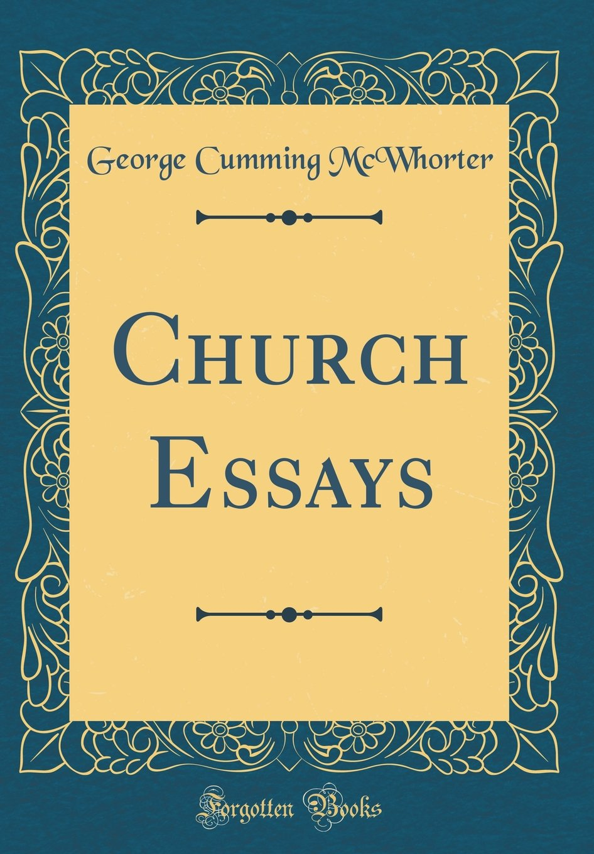 Download Church Essays (Classic Reprint) pdf epub