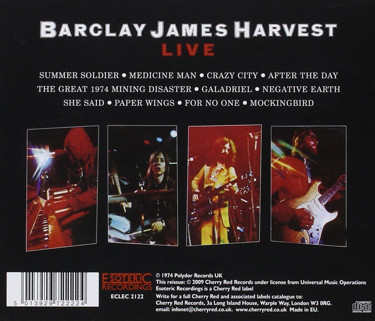 Live: BARCLAY JAMES HARVEST