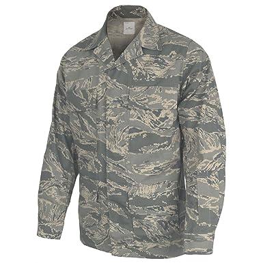 e0712ba3cae17 Amazon.com: U.S. Air Force Airman Battle Uniform, ABU Shirt: Clothing