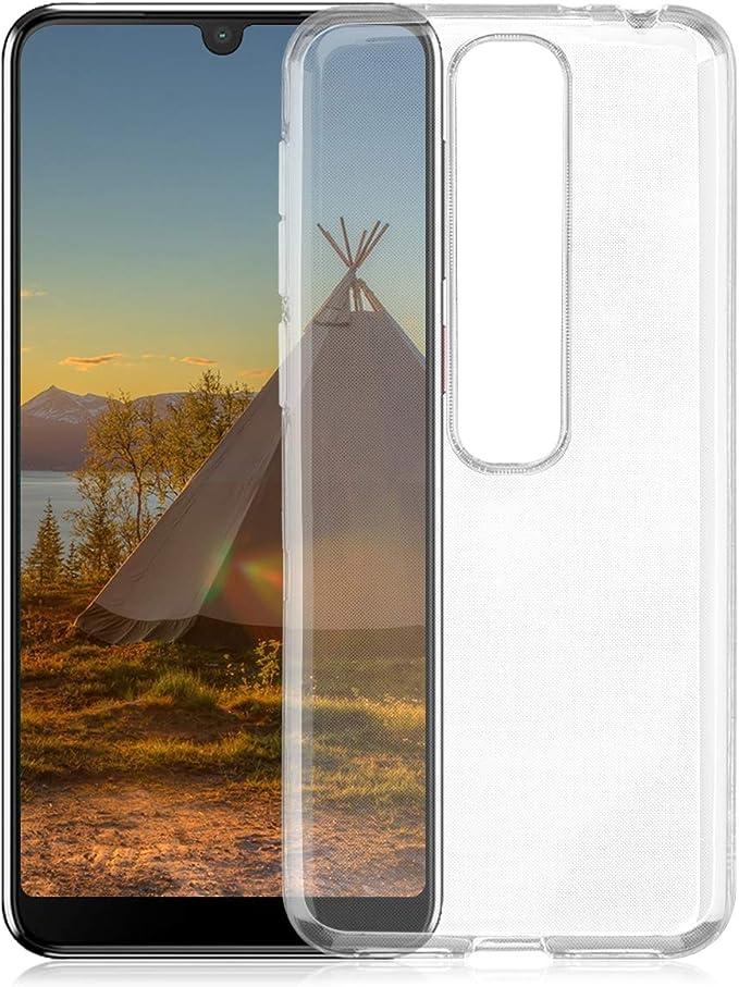 ROVLAK Funda para Vodafone Smart V10 Case Slim Transparente con ...