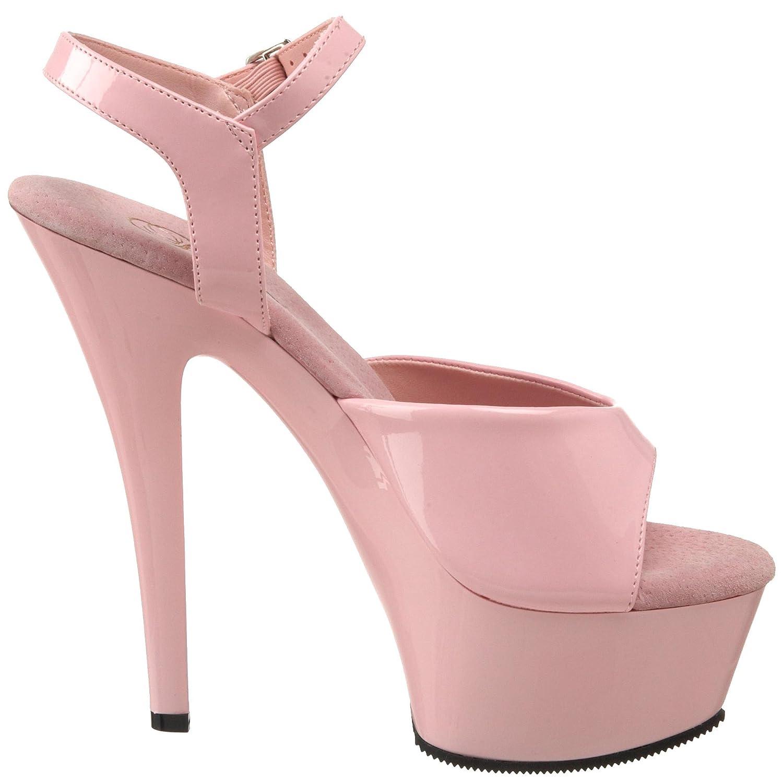 a2dad5248241 Pleaser Women s KISS-209 BP M Platform Sandal