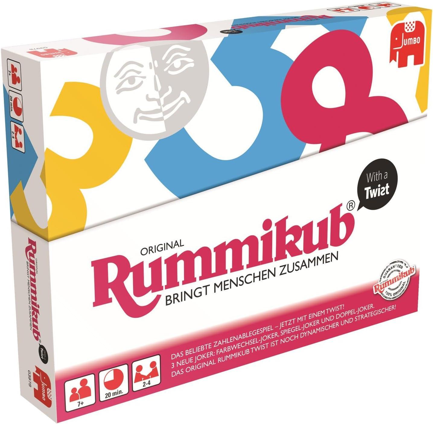 Rummikub with a Twist Niños y Adultos Juego de táctica - Juego de ...