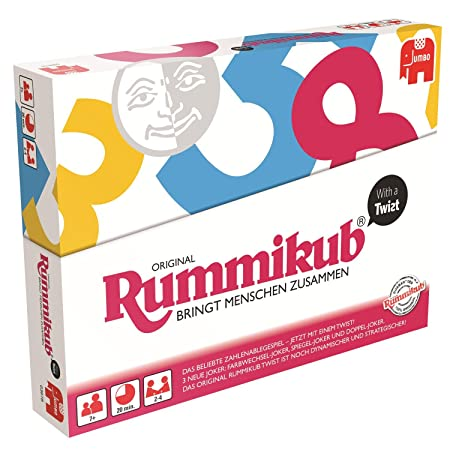 Jumbo 03978 - Rummikub with a Twist