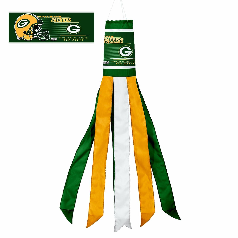 Nfl Green Bay Packers Windsock Home Garden Decor Flags