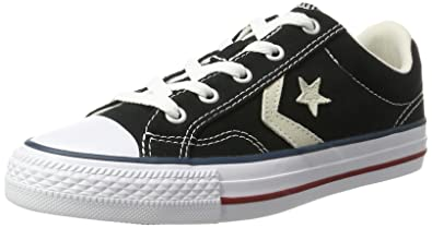 Converse STAR PLAYER OX - Baskets basses - black/milk